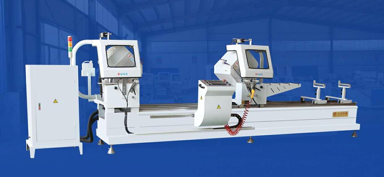 铝型材数控双头切割锯CNC450*3700