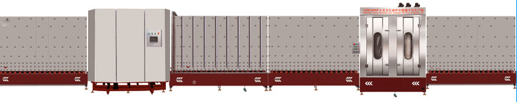 LBP1800立式板内合片中空玻璃生产线